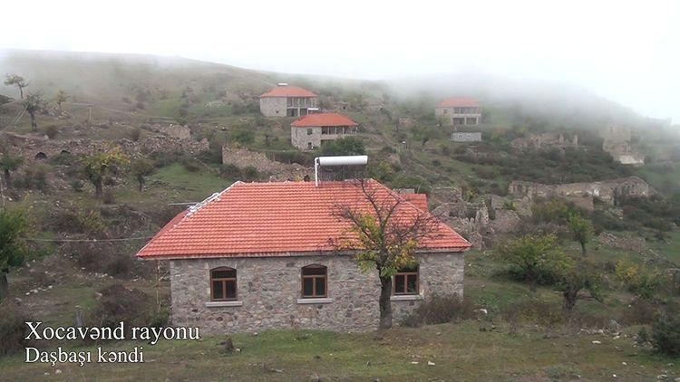 Xocavənd rayonunun işğaldan azad olunan Daşbaşı kəndindən videoreportaj - VİDEO