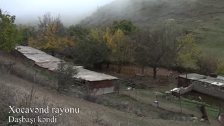 Azerbaijan MoD releases video coverage of the liberated from occupation Dashbashi village of Khojavend region