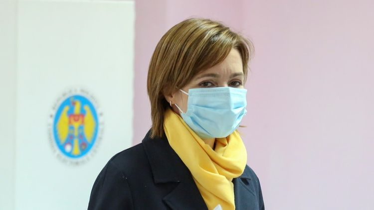 Санду лидирует на выборах главы Молдавии по 100% голосов внутри страны - ОБНОВЛЕНО-1