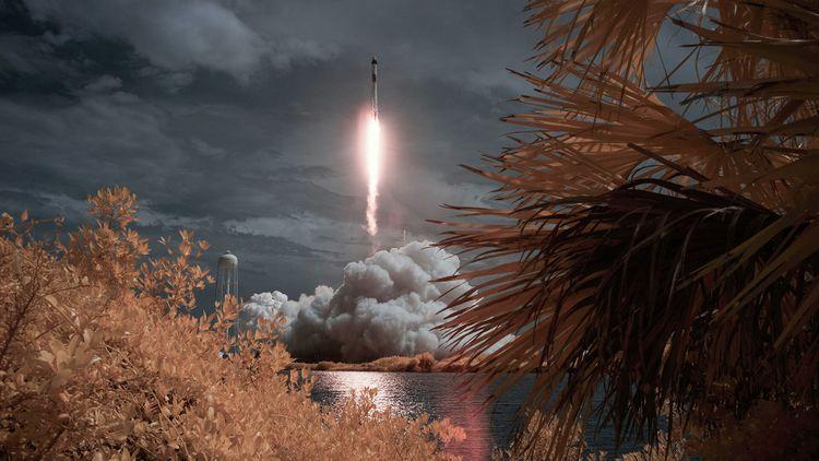 Космический корабль Crew Dragon с четырьмя астронавтами отправился на МКС