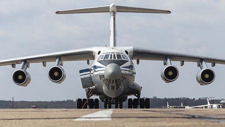 Another 18 Russian aircraft with peacekeepers arrive in Armenia