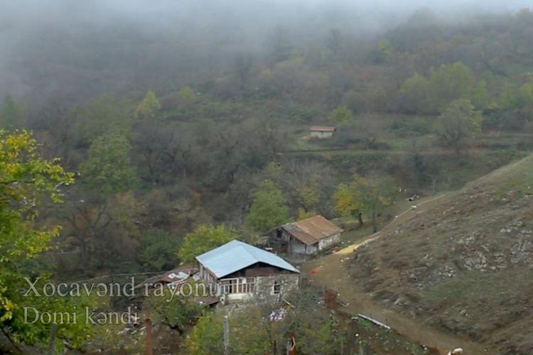 Освобожденное от оккупации село Доми Ходжавендского района – ВИДЕО