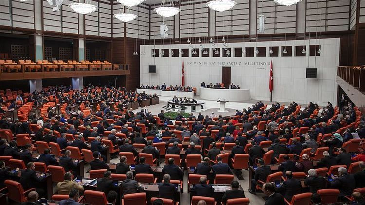 Turkish presidency submits motion on troops