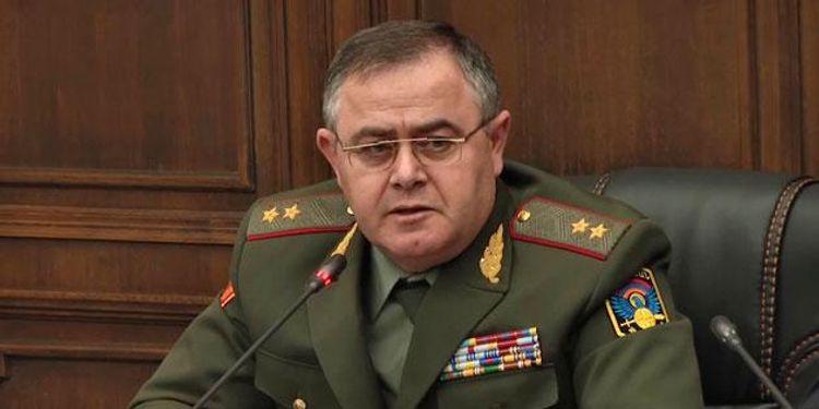 Ermənistanın Hərbi sənaye komitəsinin sədri işdən çıxarılıb