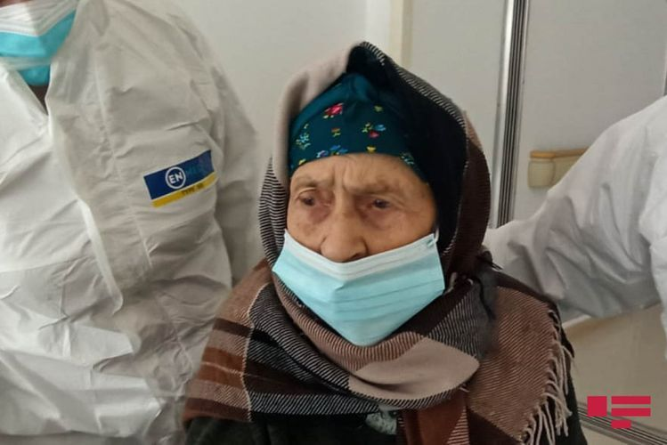 110 year-old woman recovers from coronavirus in Azerbaijan