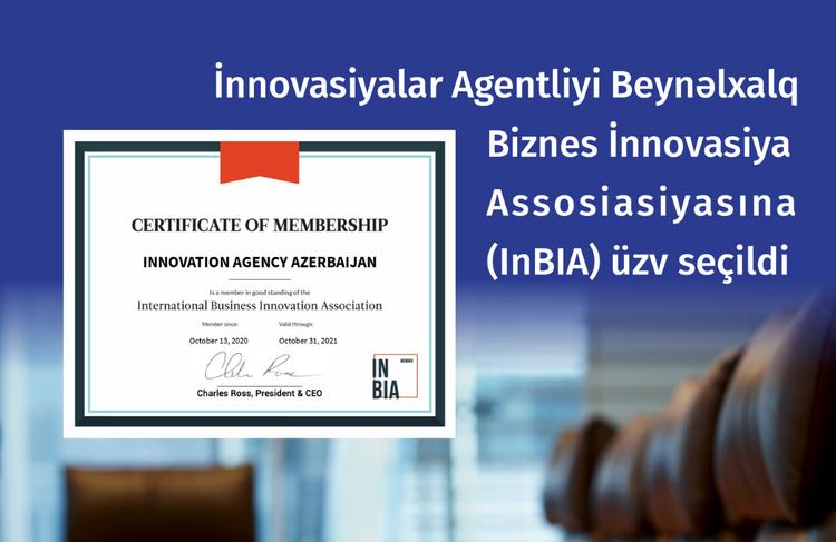 İnnovasiyalar Agentliyi InBIA-ya üzv seçilib