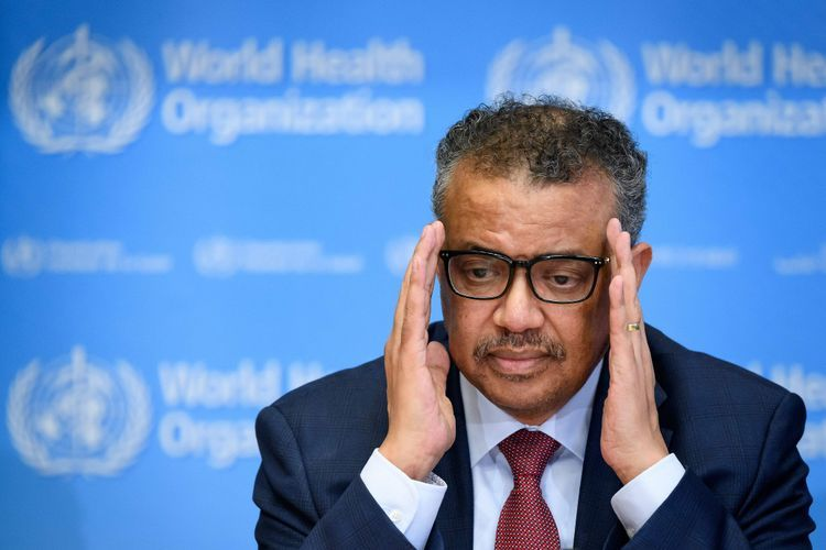 WHO chief warns that vaccine alone wouldn