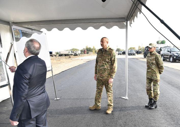 ГААДА: Состоялась церемония закладки фундамента новой автомобильной дороги