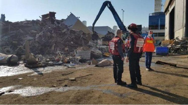 На металлургическом заводе в Израиле произошел взрыв