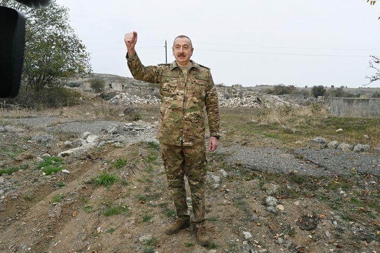 "Azerbaijani President: ""There can be no talk of any status"""