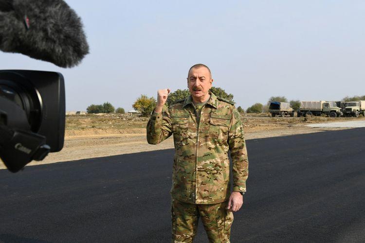 Президент Азербайджана: В ближайшие дни Азербайджану будут возвращены Агдамский, Лачинский и Кяльбаджарский районы