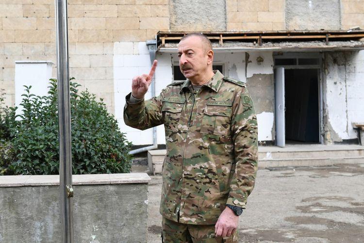 Глава государства: Они сами знают, чем бы завершилась эта война, если Армения не подписала акт о капитуляции