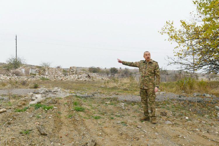 Президент Ильхам Алиев: Жители Физули и других освобожденных от оккупации земель должны знать, что мы восстановим эти места