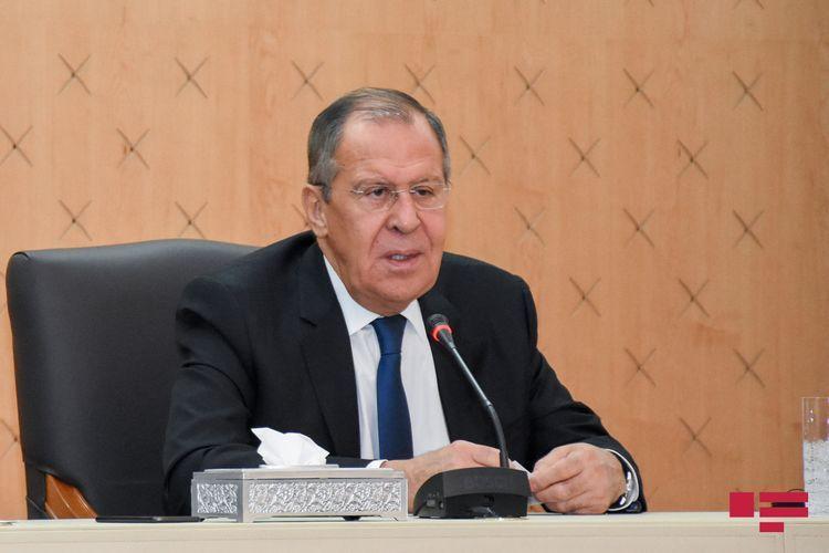 """Lavrov: """"US briefed on trilateral statement regarding Karabakh"""""""