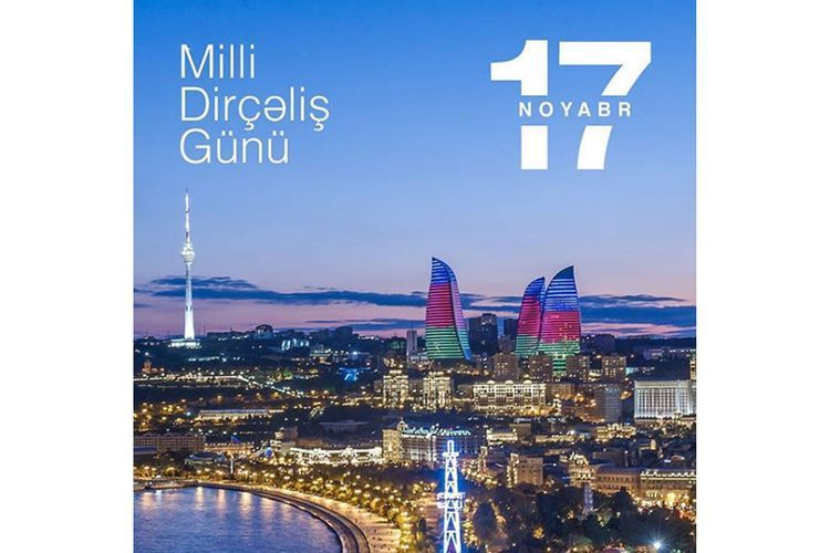 First Vice-President Mehriban Aliyeva congratulates people of Azerbaijan on National Revival Day