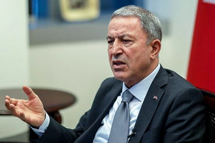 Turkish Defence Minister condemns setting houses and forests on fire in Kalbajar by Armenians