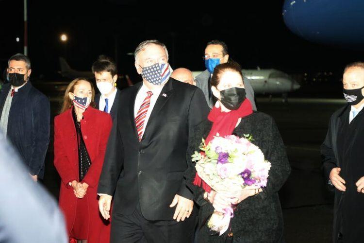U.S. State Secretary Pompeo visits Georgia