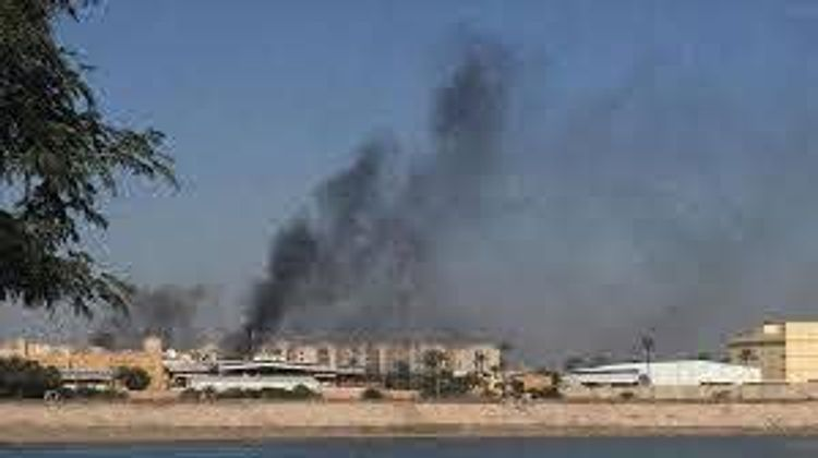 Rockets fall inside Baghdad