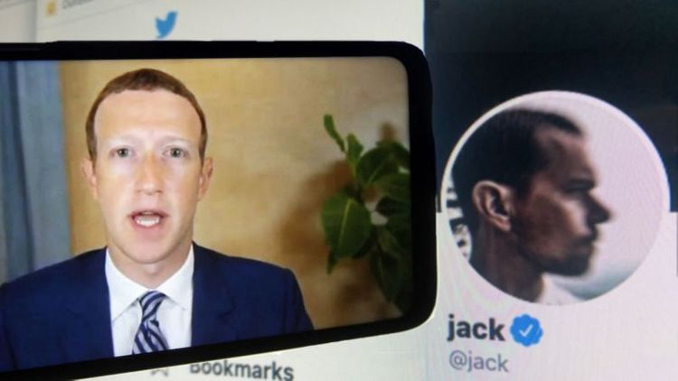 Facebook and Twitter grilled over US election actions