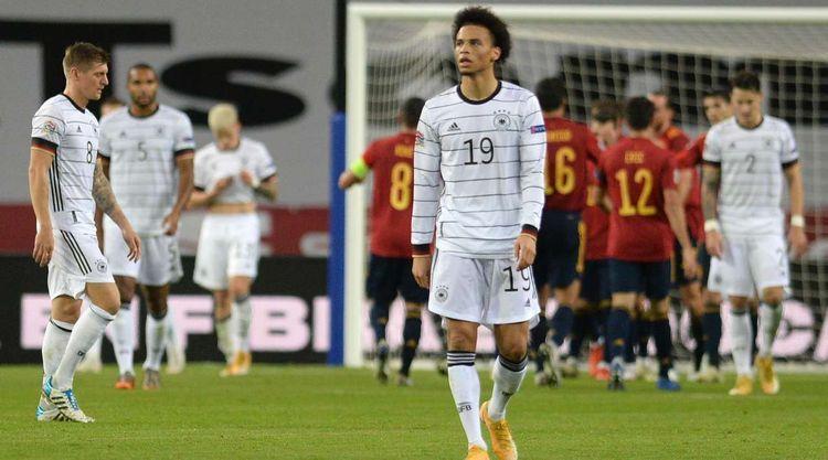 Сборная Германии по футболу одержала крупнейшее поражение в официальных матчах