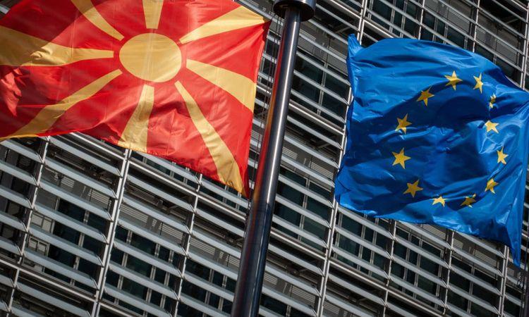 Болгария блокировала начало переговоров о присоединении Северной Македонии к ЕС