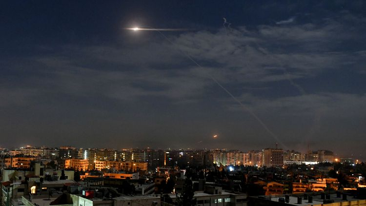 Израильская армия нанесла удар по сирийским военным