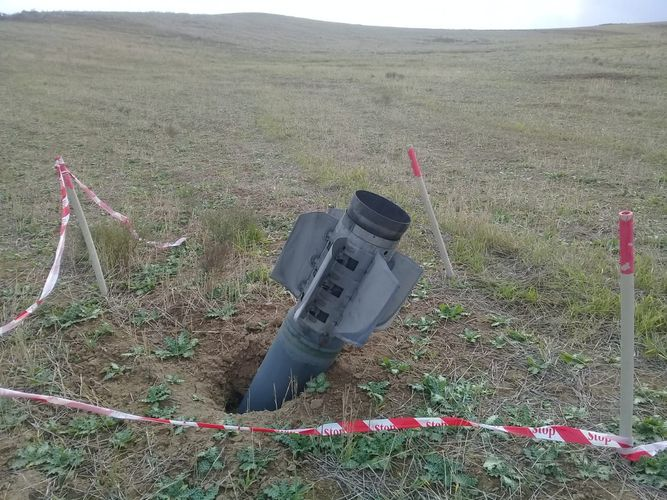 ANAMA's demolition team neutralized 40 pieces of unexploded ordnance