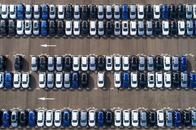 Продажи автомобилей в странах ЕС снизились