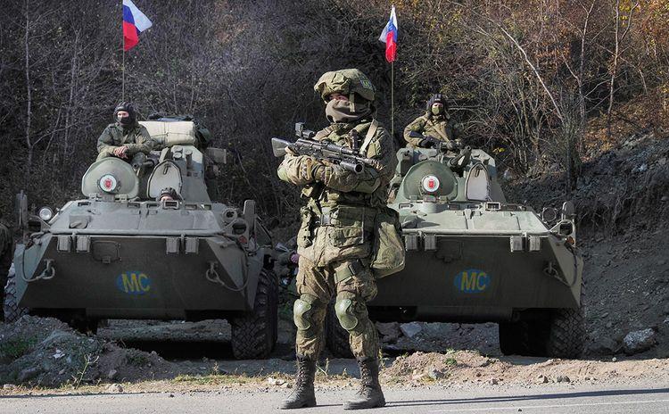 Российские миротворцы в Карабахе провели передислокацию наблюдательных постов