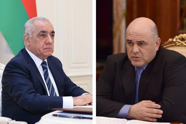 Состоялся телефонный разговор между премьер-министрами Азербайджана и России  - ОБНОВЛЕНО