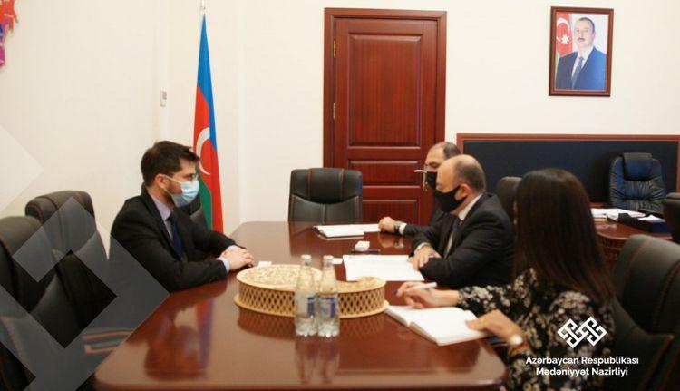Anar Karimov meets with Israel's ambassador to Azerbaijan