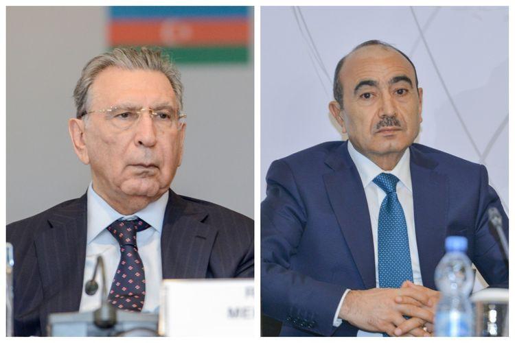 Рамиз Мехтиев и Али Гасанов освобождены от должностей в Академии государственного управления при президенте