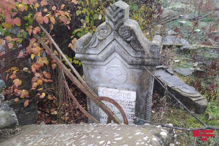 Armenians destroyed Fuzuli city cemetery