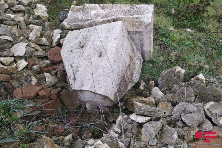 Armenians destroyed even mosque in Fuzuli city