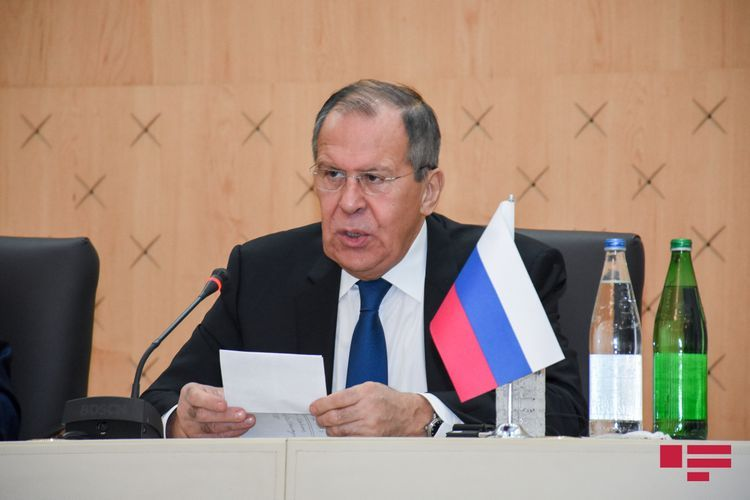 """Lavrov: """"In connection with Garabagh, one party accuses Russia of deceiving everybody, while other party – of betraying its allies"""""""