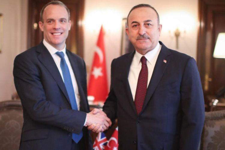 Turkish, British FMs discuss Karabakh issue