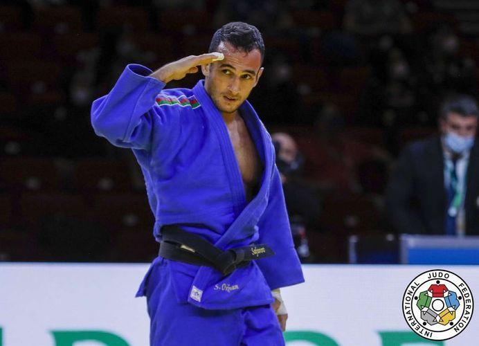 Azerbaijani judoka became European champion in Prague