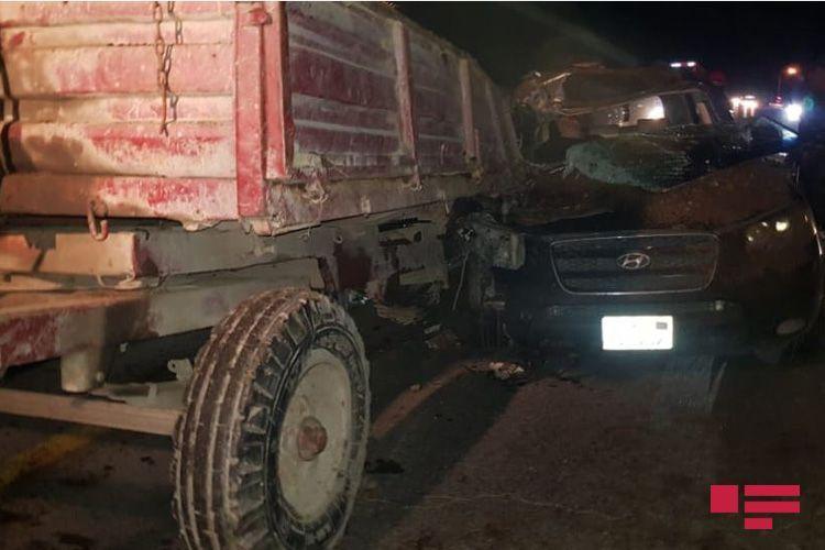 В результате ДТП в Уджарском районе погиб один человек, еще один тяжело ранен - ФОТО