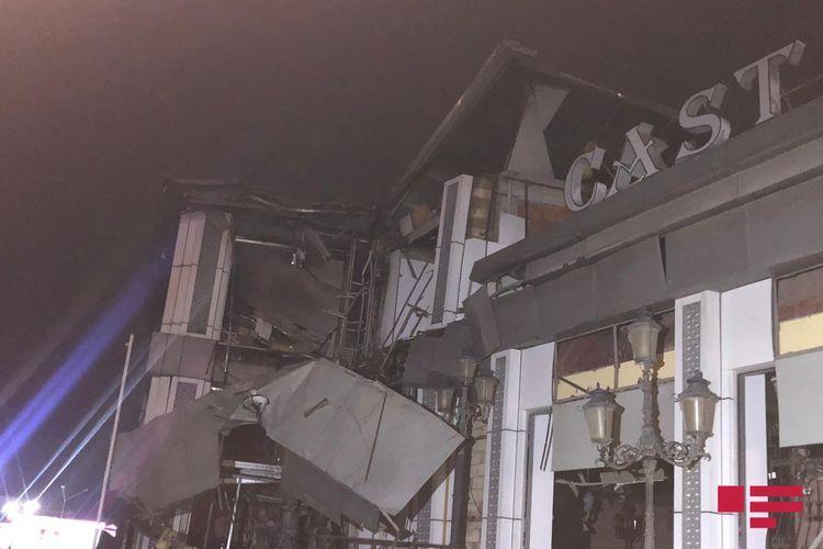 В результате взрыва в Абшеронском районе пострадали 2 человека - ОБНОВЛЕНО-1 - ФОТО