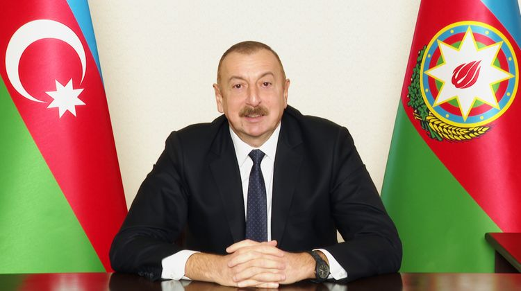 """Prezident İlham Əliyev: """"Haradasan, Avropa Şurası, niyə susursan? Niyə susursan Avropa Parlamenti?"""""""