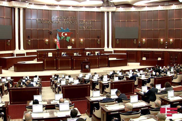 "Azerbaijani MPs propose to establish ""Savior"" order and award President Ilham Aliyev with this order"