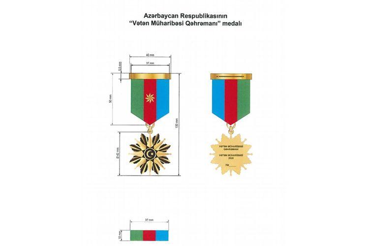 """""""Vətən Müharibəsi Qəhrəmanı"""" medalının hansı şəxslərə veriləcəyi açıqlanıb"""