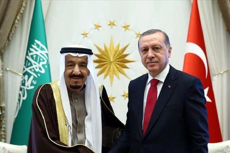 Эрдоган провел переговоры с королем Саудовской Аравии