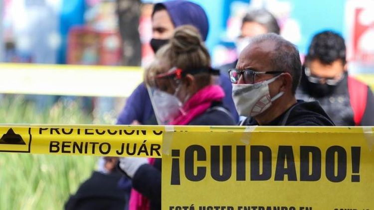 Mexico sees 6,426 new COVID cases, 719 deaths