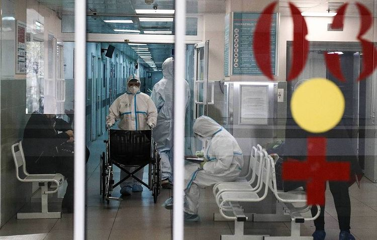 Russia reports 24,822 new coronavirus cases over past day, new all-time high