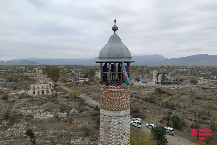 Footages of Aghdam liberated from 28 years of occupation - PHOTO