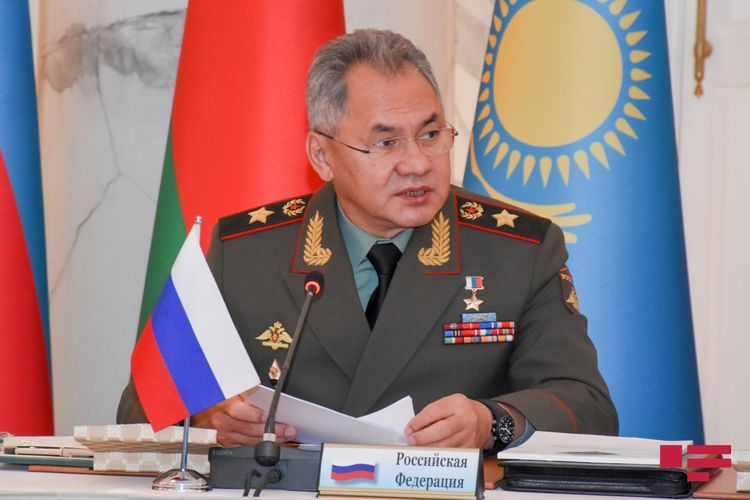 """Sergei Shoigu: """"Ceasefire has been observed during all this time, perhaps with the exception of some rare and what we consider minor exchanges"""""""