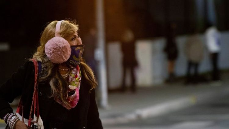 Californian Covid curfew to begin as cases surge