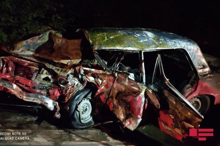 Два человека погибли, 4 ранены в результате ДТП в Барде - ФОТО