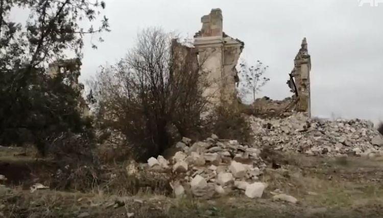 Минобороны Турции: Убийца детей - Армения сожгла и разрушила всё, оставляя Агдам  - ВИДЕО